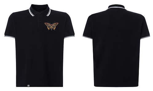GK - Butterfly Embroidered Deluxe Polo