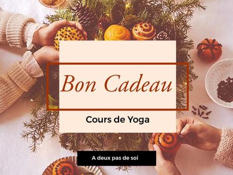 Offrez des cours de Yoga à Noël !