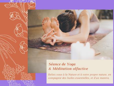 Yoga & Méditation olfactive en ligne