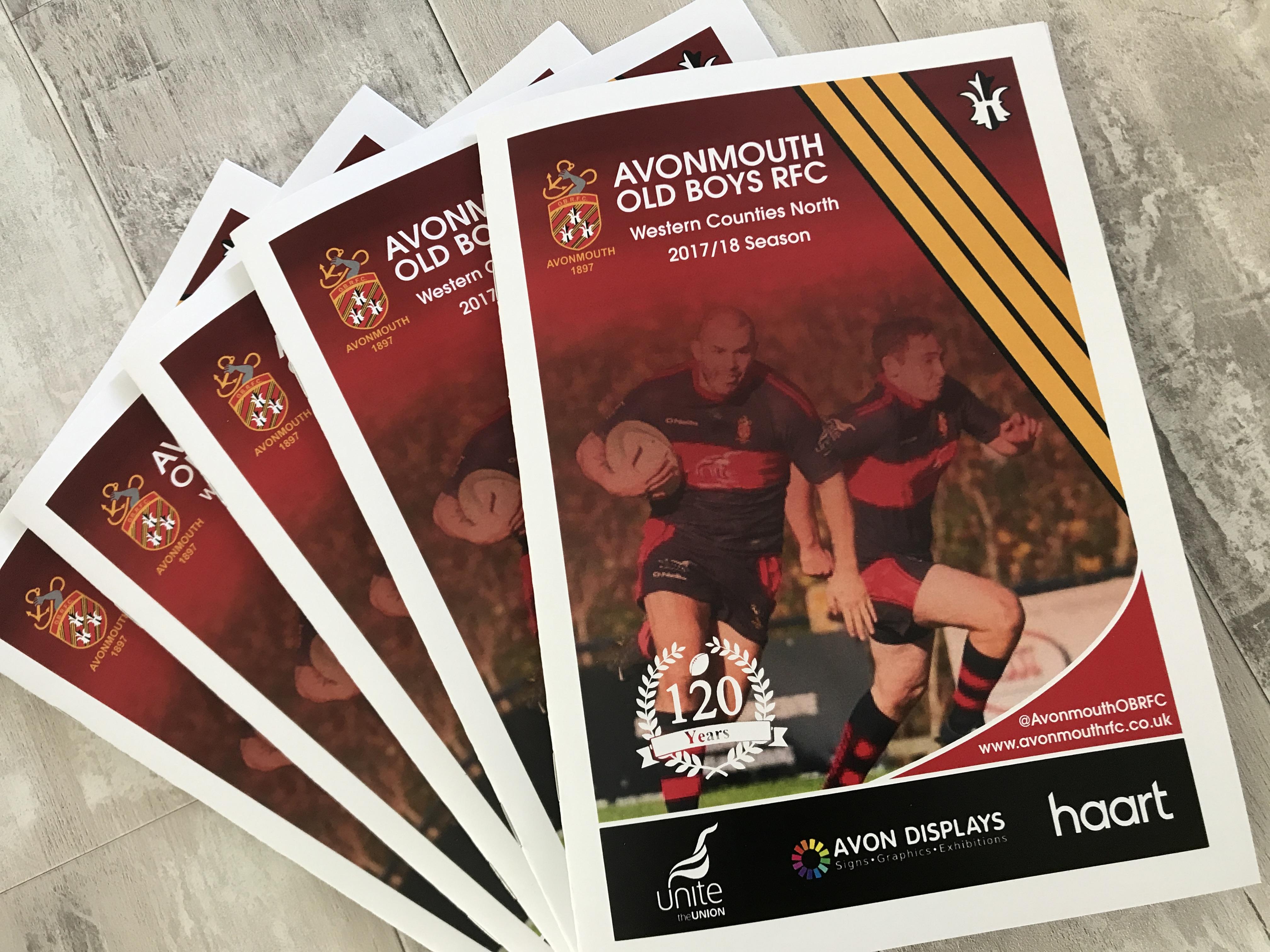 Match Day Programe Printing