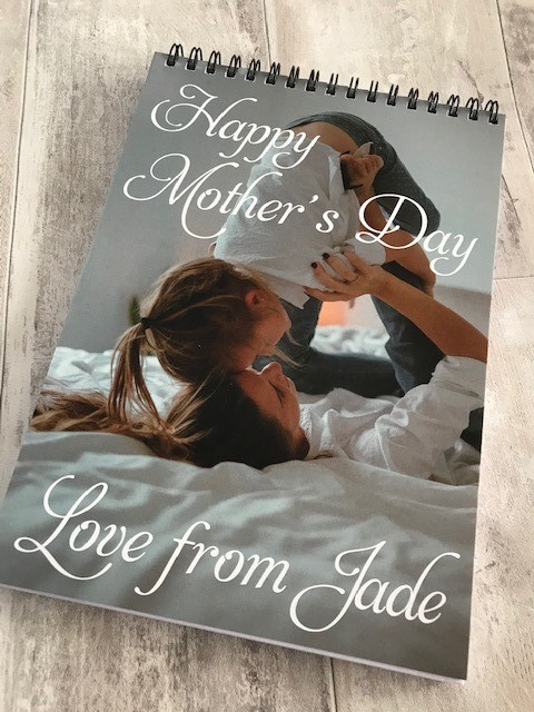 Mothers Day Notebook