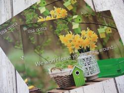 Card Laminated Flyer printing