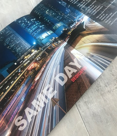 210mm Square Brochure Printing