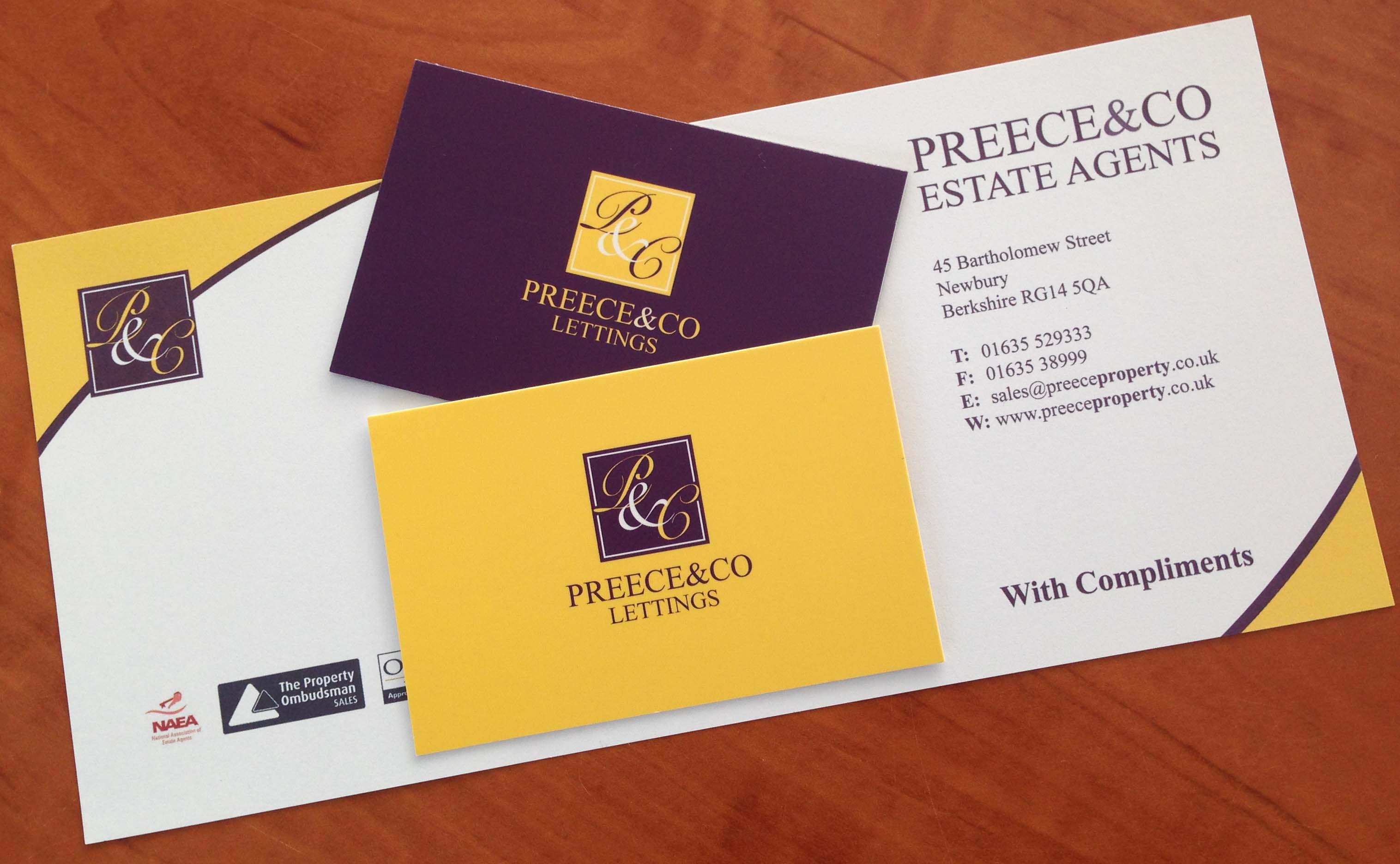 Compliment Slip & Business Cards Pri