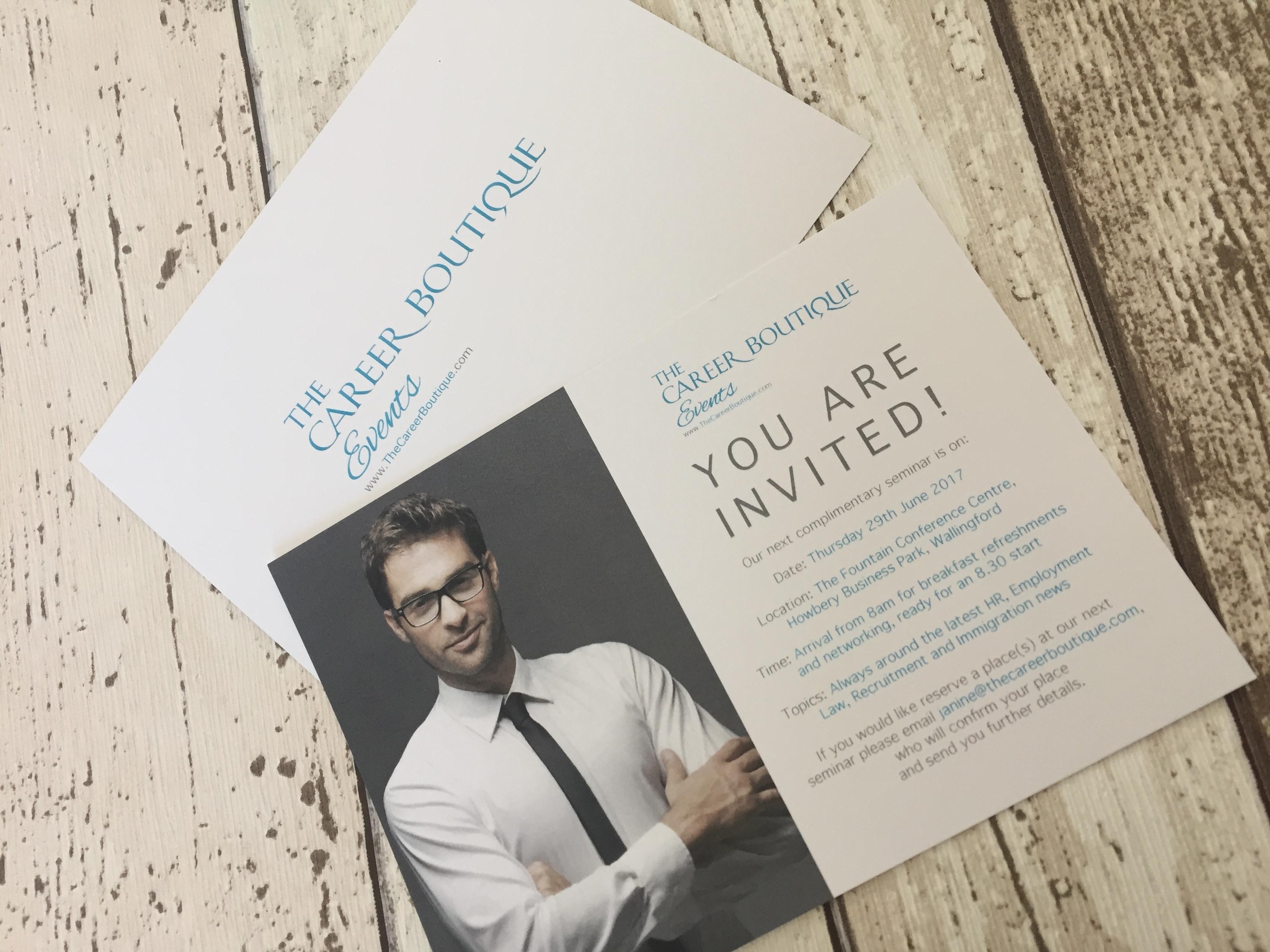 A6 Invitation Printing