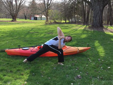 Kayaking and Yoga