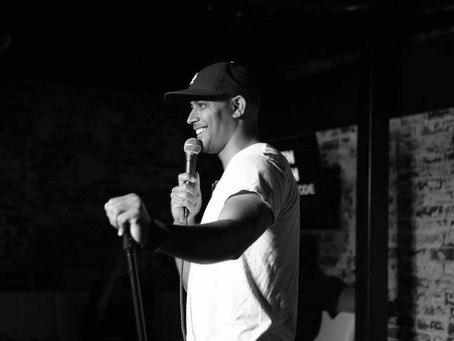 Meet The Comedians: C.T. English