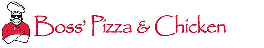 Boss' Pizza & Chicken Logo