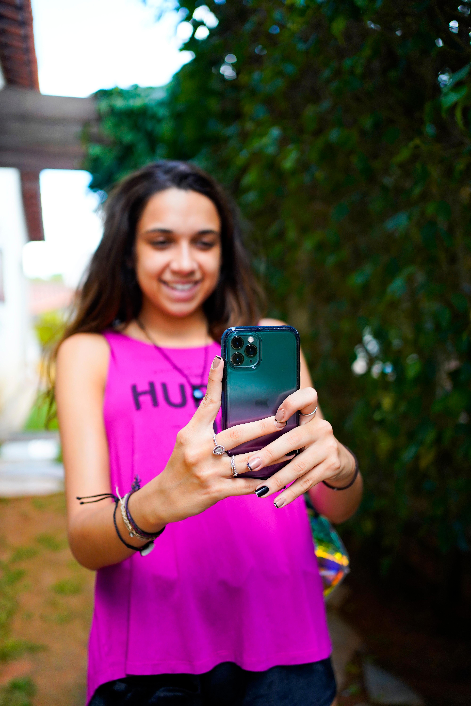 Fotografando com o celular