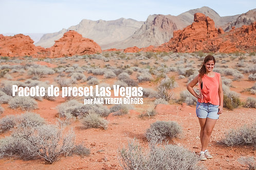Pacote Preset Las Vegas por Ana Tereza Borges