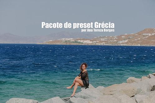 Pacote Preset Grécia por Ana Tereza Borges