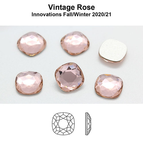 Timantit Cushion Vintage Rose (7mm)