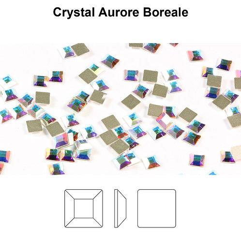 Timantit SW Square Crystal AB (4mm)