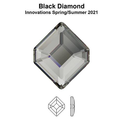 Timantit Concise Hexagon Black Diamond 5x4.2mm