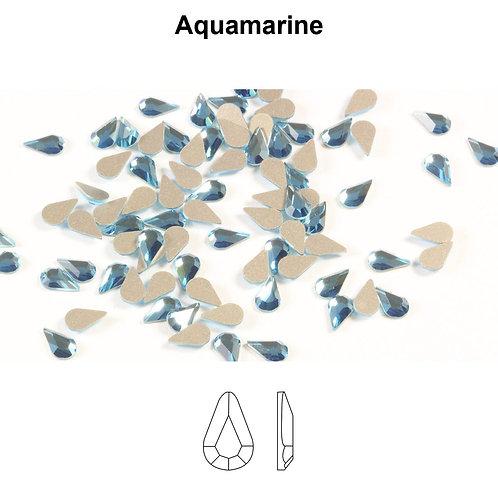Timantit Drop Aquamarine 8x4,8mm