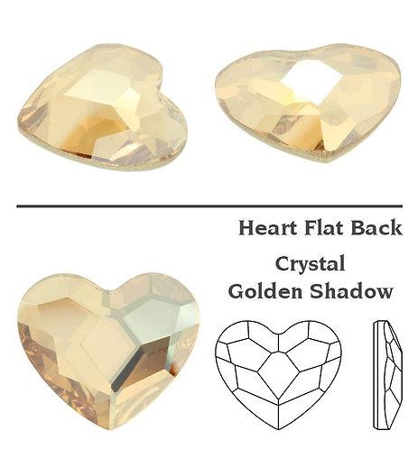 Timantit SW Heart Golden Shadow (3.6mm)
