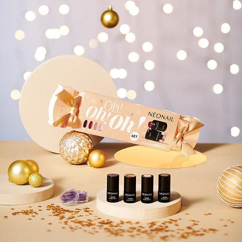 Neonail Christmas Oh, Oh Set