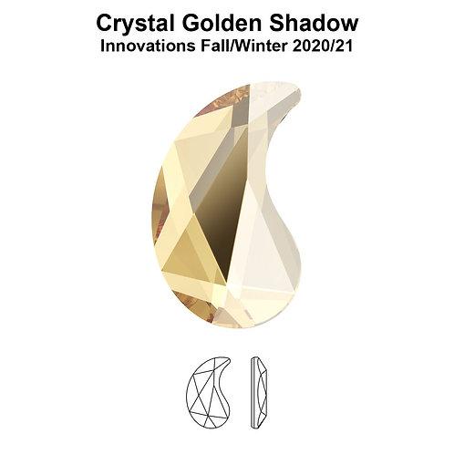 Timantit Paisley Golden Shadow X 6x3,7mm