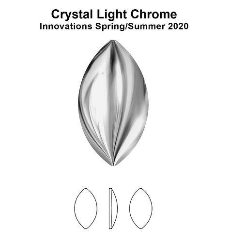 Timantit Cabochon Navette Light Chrome 8x4,5mm