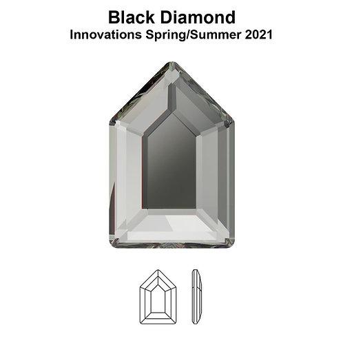 Timantit Elongated Pentagon Black Diamond 6,3x4,2mm