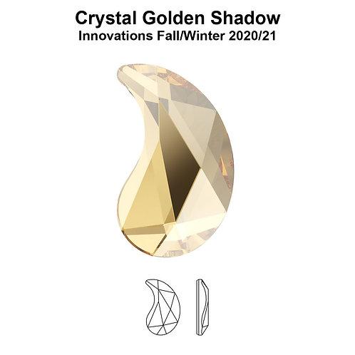 Timantit Paisley Golden Shadow Y 6x3,7mm
