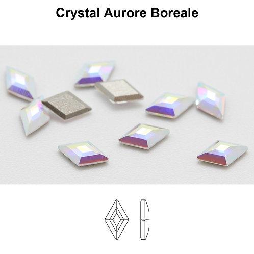 Timantit Diamond Shape Crystal AB 5x3mm