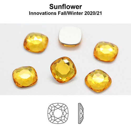 Timantit Cushion Sunflower (7mm)