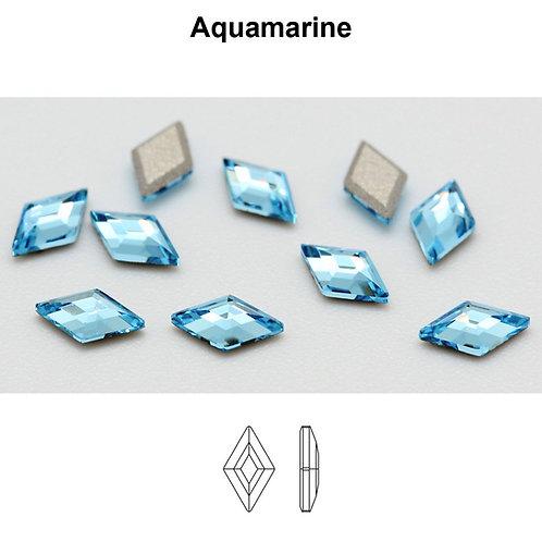 Timantit Diamond Shape Aquamarine 5x3mm