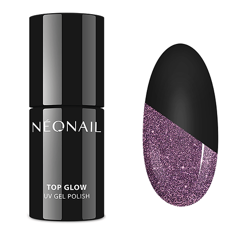 Neonail Top Glow Sparkling