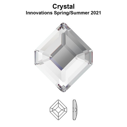 Timantit Concise Hexagon Crystal 6,7x5,6mm