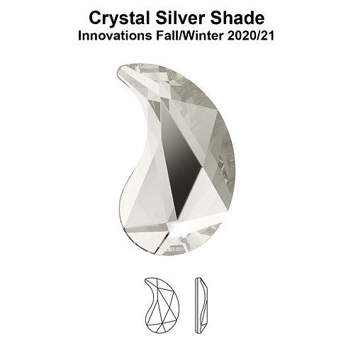 Timantit Paisley Silver Shade Y 6x3,7mm