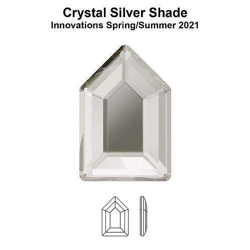 Timantit Elongated Pentagon Silver Shade 6,3x4,2mm