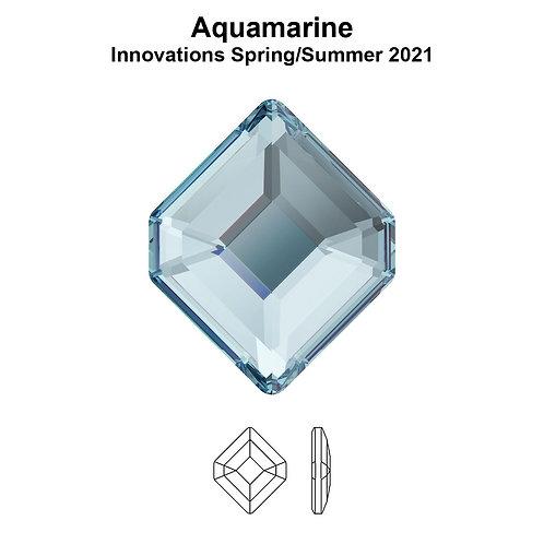 Timantit Concise Hexagon Aquamarine 5x4.2mm