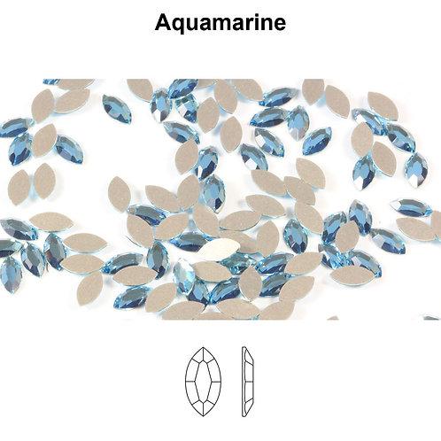 Timantit SW Navette Aquamarine (8x4mm)