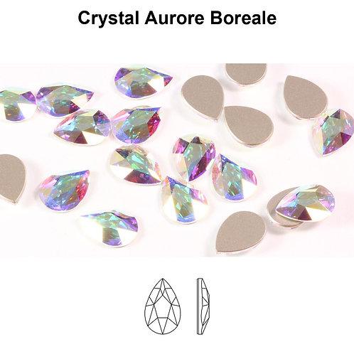 Timantit Pear Crystal AB 8x5mm