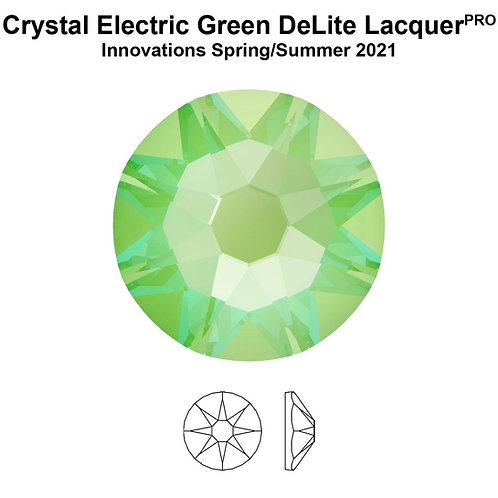 Timantit Swarovski® Electric Green SS12