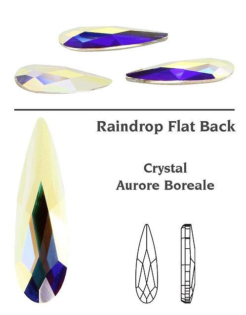 Timantit Raindrop Crystal AB 6mm