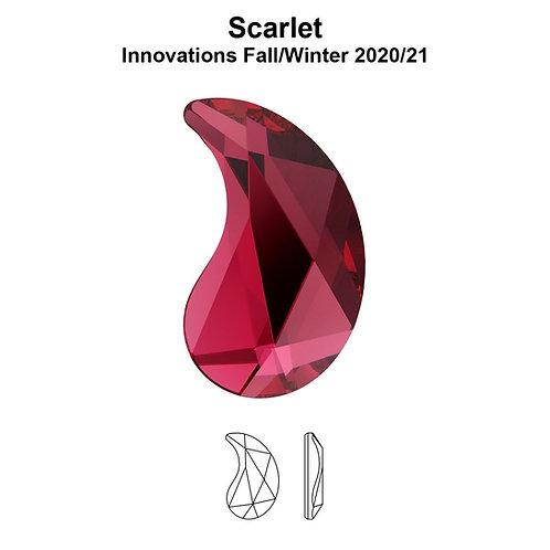 Timantit Paisley Scarlet Y 6x3,7mm