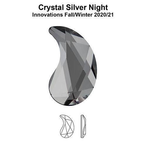 Timantit Paisley Silver Night Y 6x3,7mm