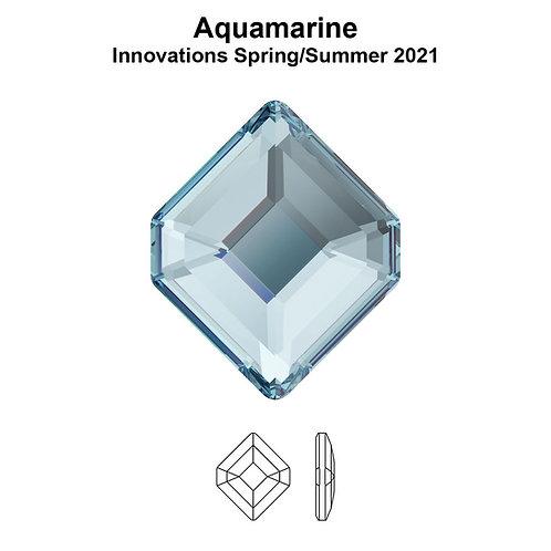 Timantit Concise Hexagon Aquamarine 6,7x5,6mm