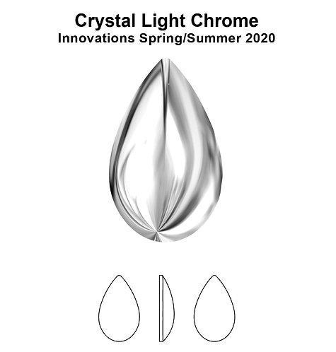 Timantit Cabochon Drop Light Chrome 8x5mm