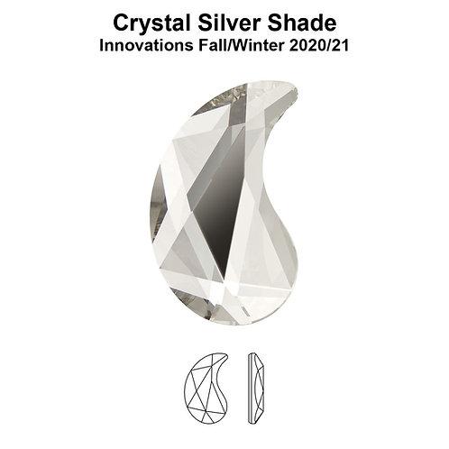 Timantit Paisley Silver Shade X 6x3,7mm