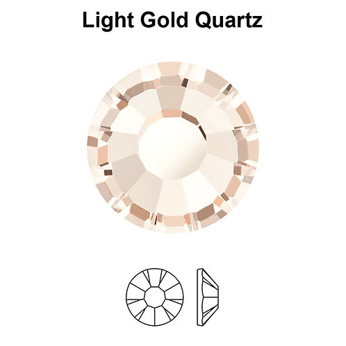Timantit Preciosa® Light Gold Quartz