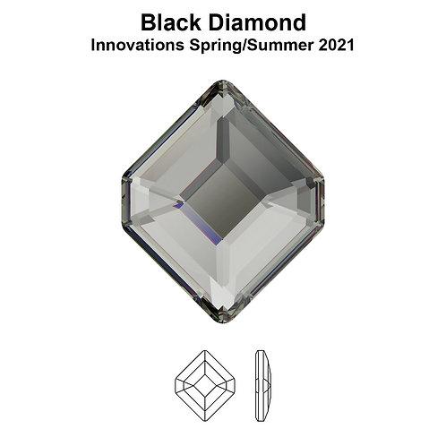 Timantit Concise Hexagon Black Diamond 6,7x5,6mm