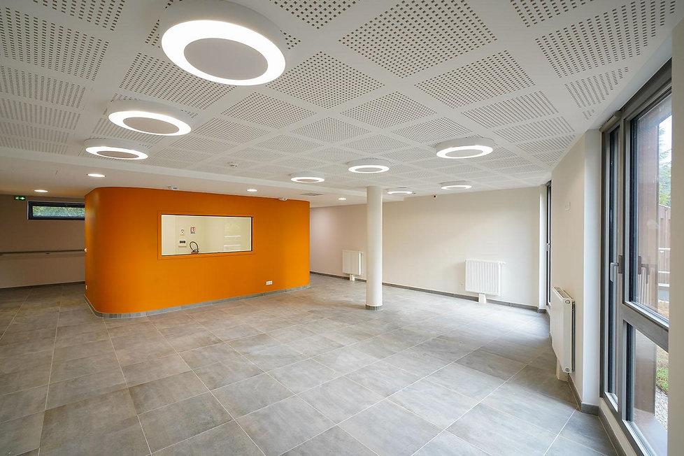 Photo de l'intérieur de l'EHPAD de Milly-la-Forêt