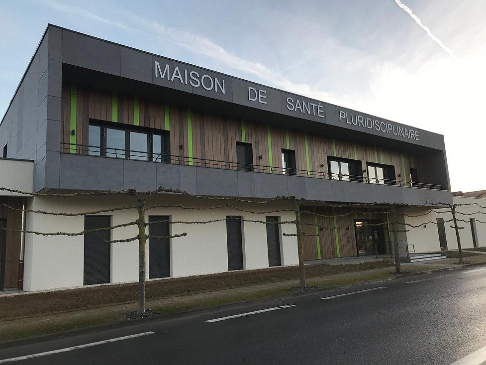 Photo de la maison de santé pluridisciplinaire à Saint-Martin-sur-le-Pré