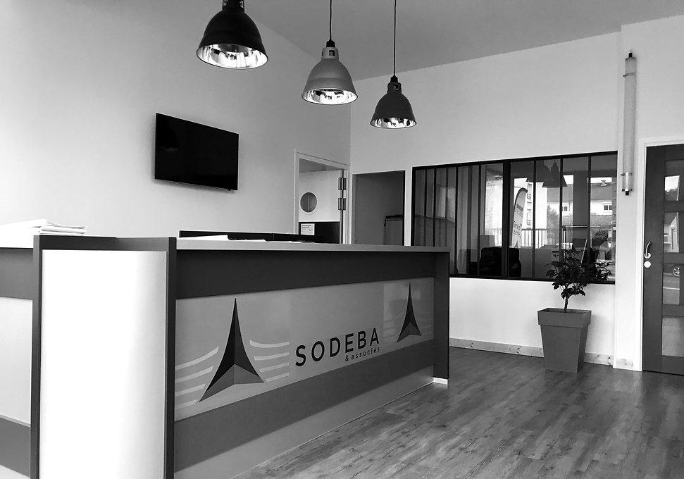 Photo de l'accueil du siège social de Sodeba & associés à Châlons-En-Champagne