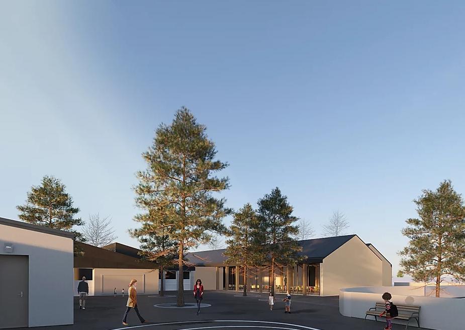 Modélisation 3D de la cité scolaire Fontaine Saint Lubin à Boissy-sous-Saint-Yon