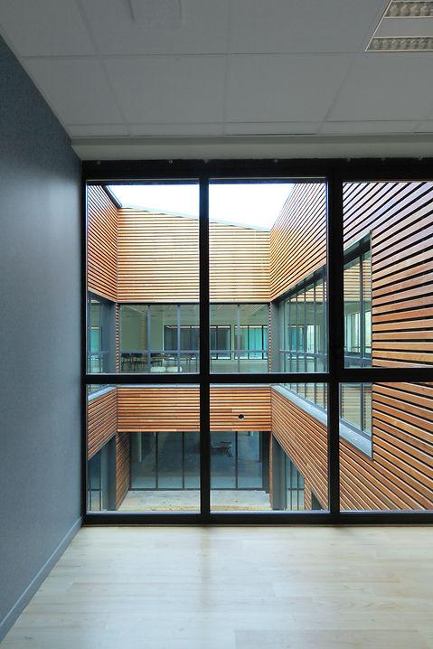 """Modélisation 3D de l'intérieur des bureaux de coworking """"Le 111"""" à Châlons-En-Champagne"""