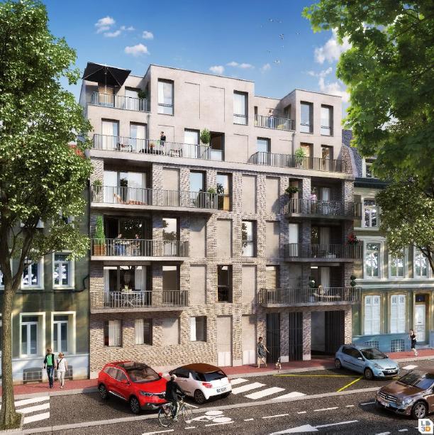 Modélisation 3D de la Résidence Le 38 à Lille